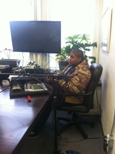 Dasaun, The interviewer!